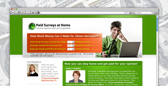 Get Paid Cash By Answering A Few Questions Per Day